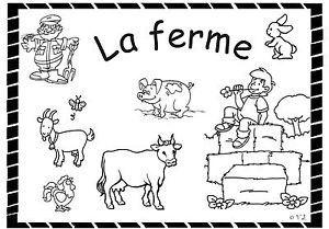 Coloriage Animaux De La Ferme 2 3 Ans